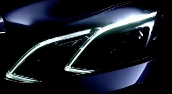 Mercedes Benz 2013/2014 E-Class teaser video released