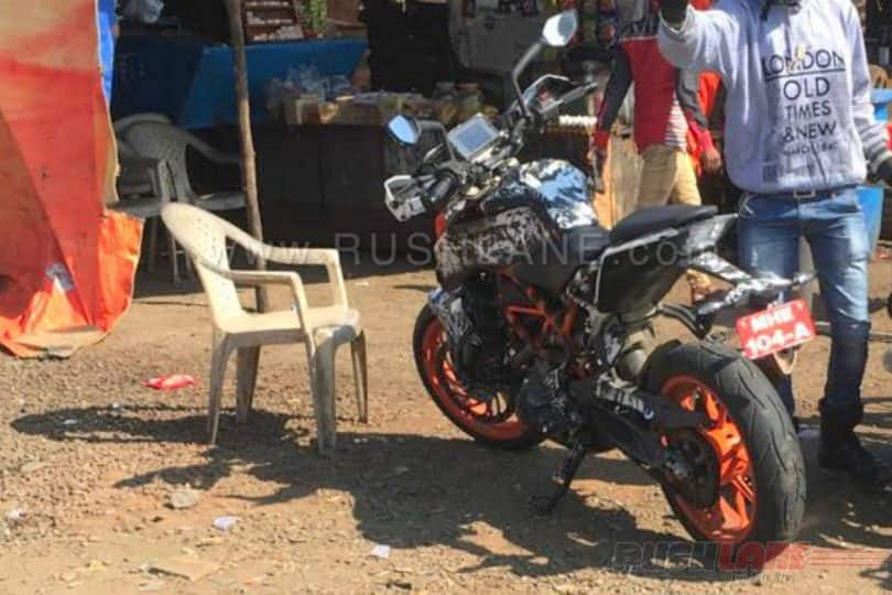 2017 KTM 390 Duke Continues Testing, India launch by March this year