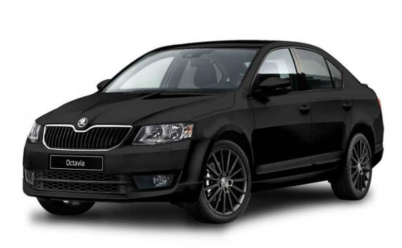 Skoda Octavia Black Edition expected to come in January 2017