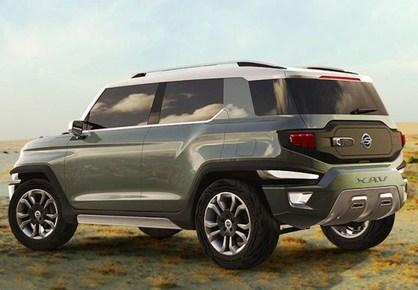 Mahindra SsangYong XAV likely to make it to production soon