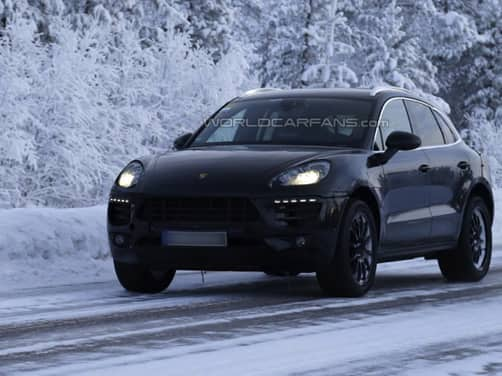 Scoop: Porsche Macan captured on video