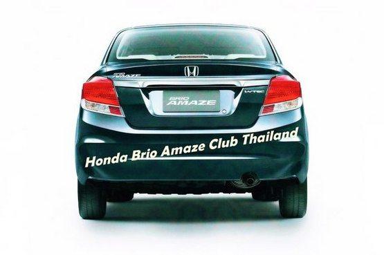 Honda Amaze images leaked on Facebook