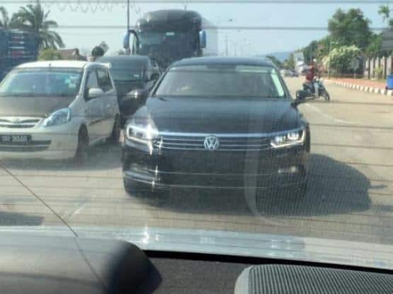 new car release 2016 india2016 Volkswagen Passat spotted undisguised India launch expected