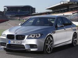 BMW reveals 2014 M5 with 575PS Competition Pack