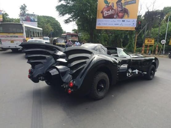 Believe it or not here is Indiau0027s own Batmobile in the city of Pune & Believe it or not here is Indiau0027s own Batmobile in the city of ... markmcfarlin.com
