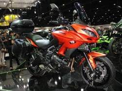 India bound Kawasaki Versys 650 revealed at Thailand motor show 2015