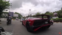 Lamborghini Aventador SV Roadster owner surprises his followers in a humble way