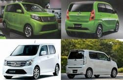 Upcoming Japanese-spec 2017 Suzuki Wagon-R and Stingray images revealed