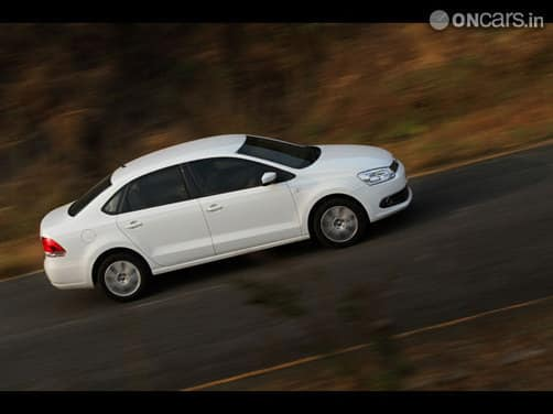 Volkswagen's latest offer: Pay 50% and drive home a Vento.