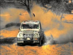 Maruti Suzuki Desert Storm Rally: Maruti flags off the 13th edition of its motorsport rally from Delhi today
