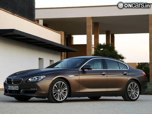 2013 BMW 6-Series Gran Coupe to be launched in India on 8 November 2012