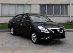 Nissan Sunny facelift spied in China