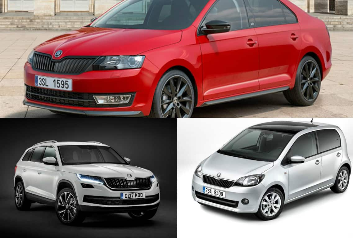 Upcoming Skoda cars in India in the year 2017-18