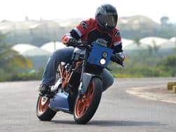 First look, KTM RC390 cafe racer
