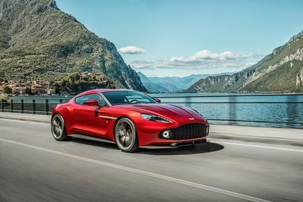 Aston Martin Vanquish Zagato: The limited edition 600PS supercar