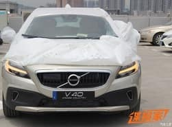 2016 Volvo V40 and V40 Cross Country Spied, India Bound