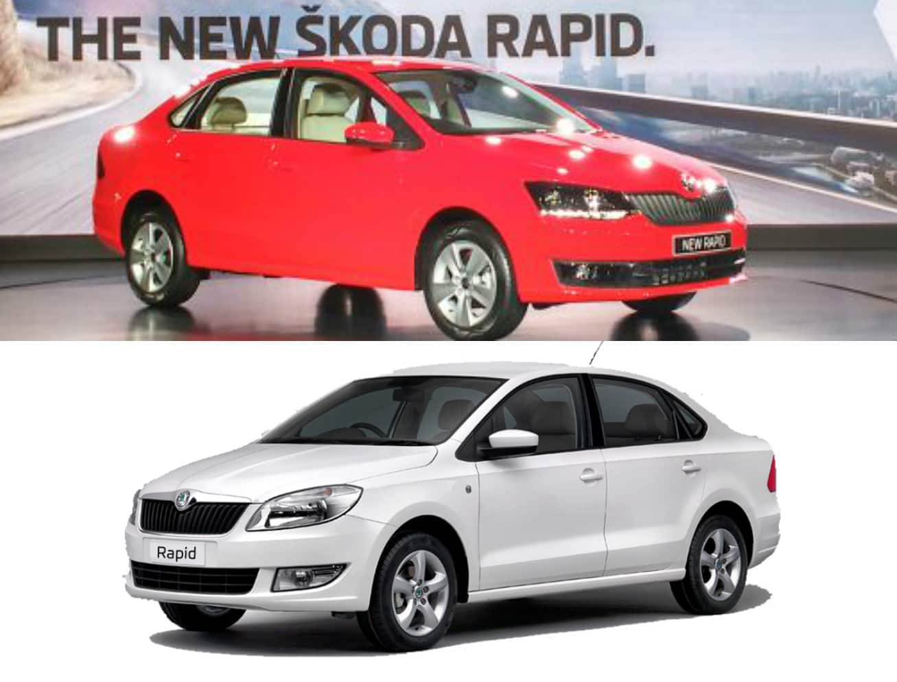 New Skoda Rapid 2016 Facelift – New vs Old | Find New & Upcoming ...
