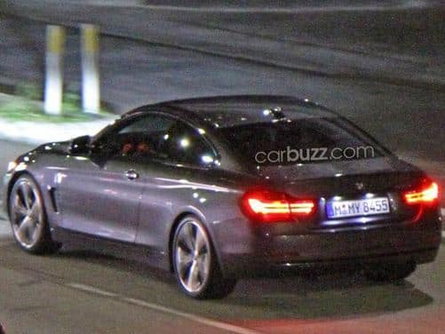 BMW 4-Series Coupe caught without camo