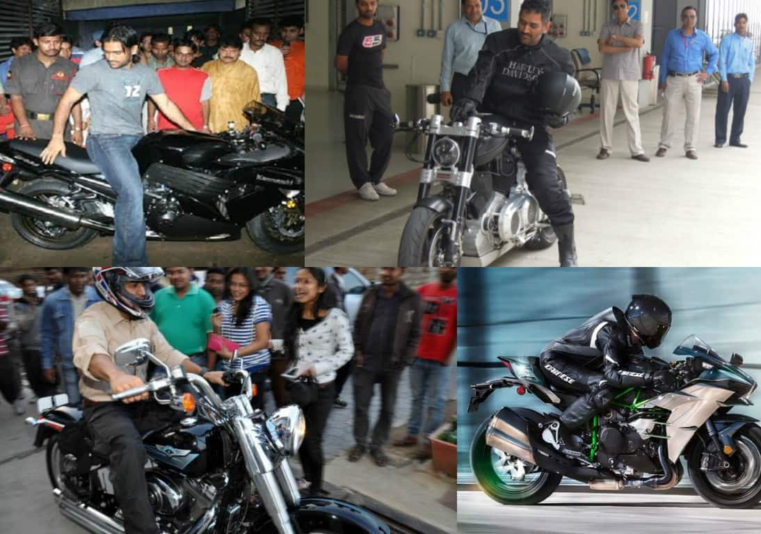 The Fastest Indian: Mahendra Singh Dhoni superbike collection