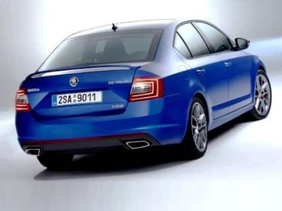 Skoda Octavia vRS might be launched in India Report  Find New