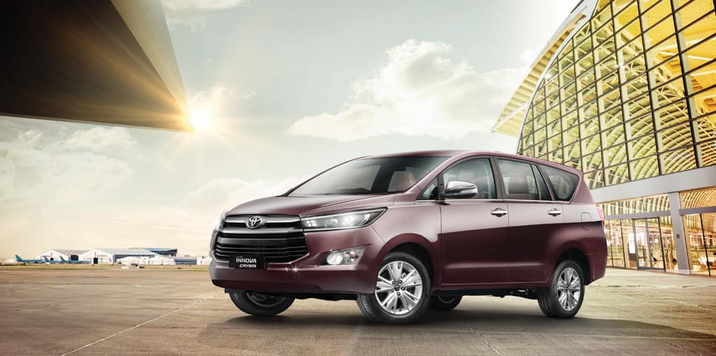 Toyota Innova Crysta and Toyota Fortuner prices to increase by 3 percent come January 2017