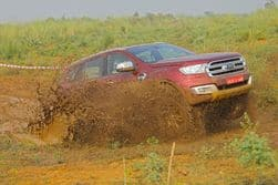 Ford Endeavour-Off Road Experience