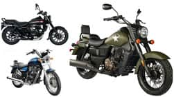 Top 5 Cruiser Bikes you can buy under INR 2 Lakh