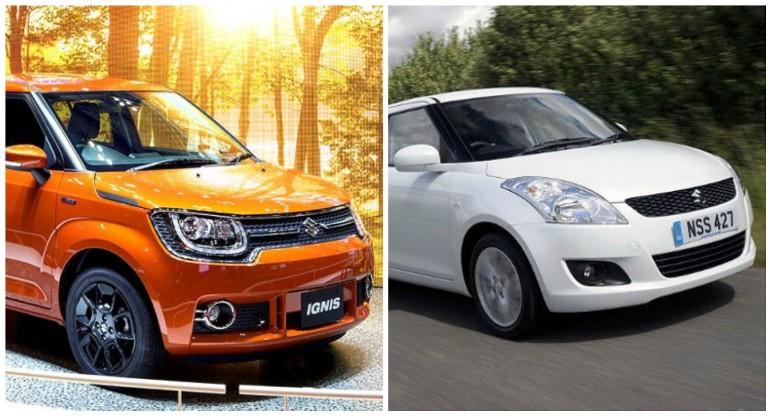 Maruti Ignis vs Maruti Swift: Which makes more sense in 2017