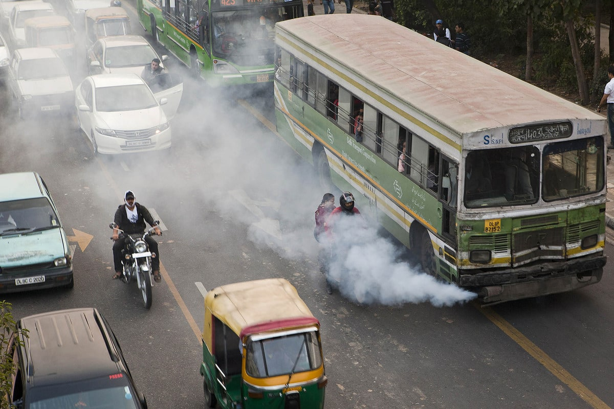 vehicle pollution in india essay A mobile pollution check vehicle in india pollution control is a term used in environmental management it means the control of emissions and effluents into air.