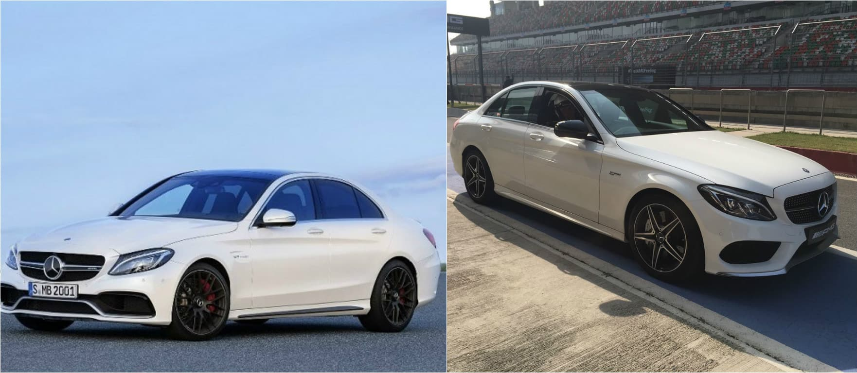 New Mercedes-Benz C43 AMG Vs C63 S AMG; Basic Differences