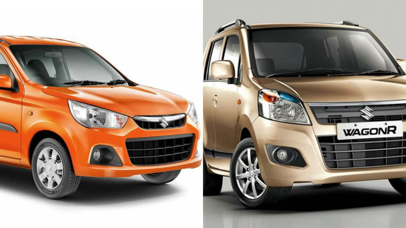 Maruti alto k10 maruti wagon r and maruti celero amt featuring huge discounts and benefits