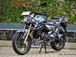 TVS Apache 200 spied again before launch; Clear profile image rolls out