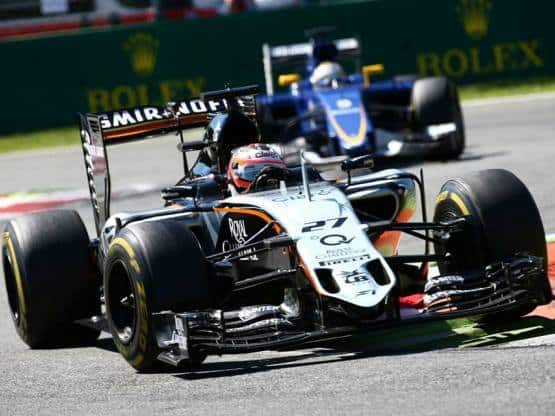 Force India's Steering wheel Worth INR 74 Lakh Stolen at Italian GP:  Police begins investigation