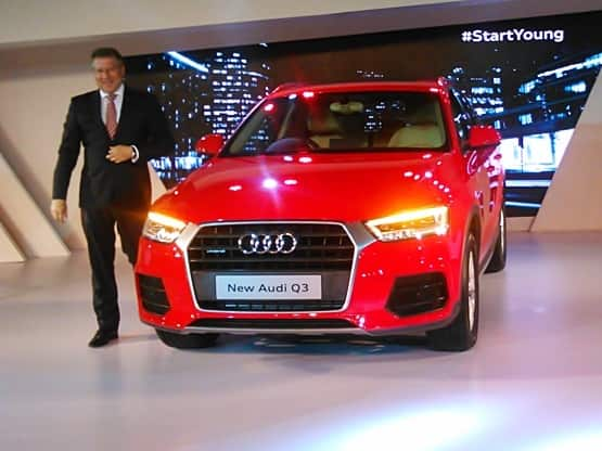 2015 Audi Q3 SUV launched in India: price, features & specs | Find