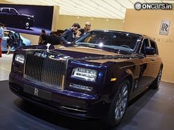 2013 Frankfurt Motor Show: Rolls Royce Celestial Phantom takes its first official bow