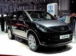Tata reveals updated Aria with automatic gearbox in Geneva