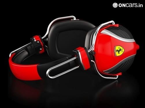 Ferrari by Logic3 Scuderia P200 Headphones