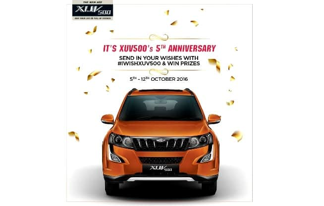 Mahindra XUV500 completes five years in India