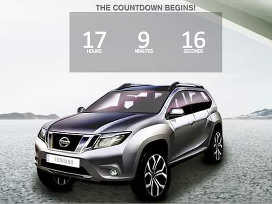 Nissan Terrano to be unveiled today; To launch in October 2013