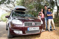 Little Indian Family completes their Bangalore to Paris trip in a Fiat Linea T-Jet