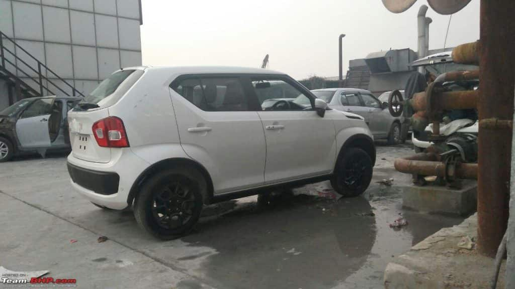 Maruti Ignis reaches dealerships ahead of January 13th launch