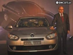 Upgraded Renault Fluence E4 D launched in India