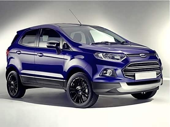 Ford EcoSport 2015 Ford Unveils Slightly Updates EcoSport SUV At