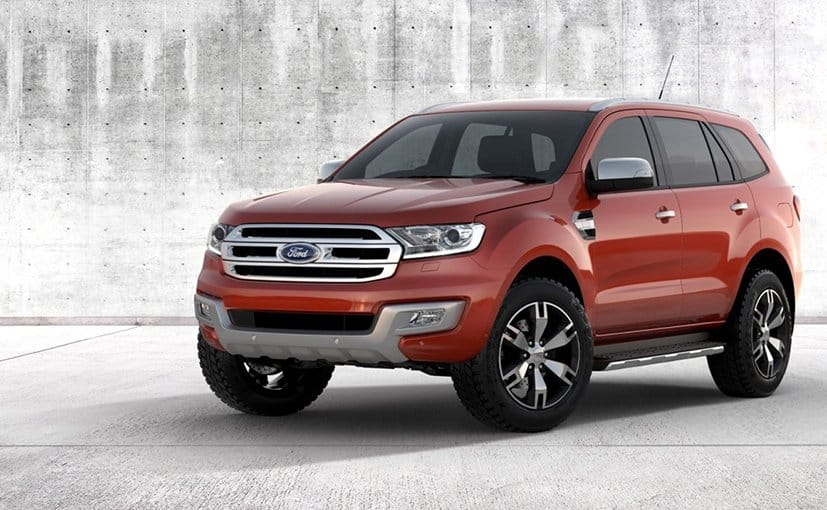 Ford India Hikes The Prices Of 2016 Endeavour