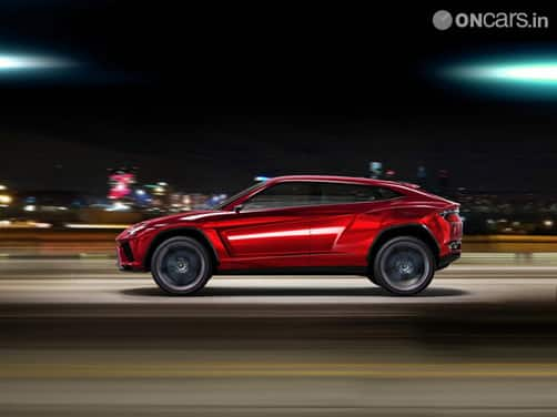 Urus won't make it to production before 2017, says Lamborghini