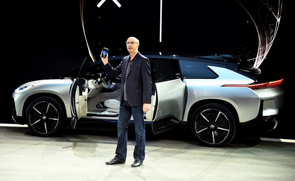 Faraday Future FF91 world's fastest electric car revealed at CES 2017; Bookings open in US