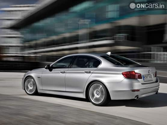 new car launches october 2014 india2014 BMW 5Series Facelift to launch in India on 10 October 2013