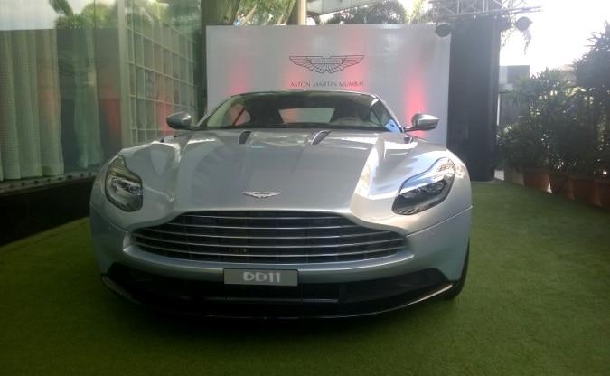 Aston Martin DB11 comes to India: Showcased in Mumbai