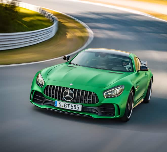 Mercedes-AMG GT R Sets The Record For The Fastest Rear