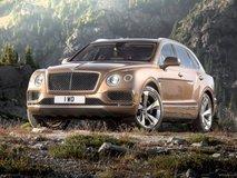Bentley Bentayga SUV launching today in India